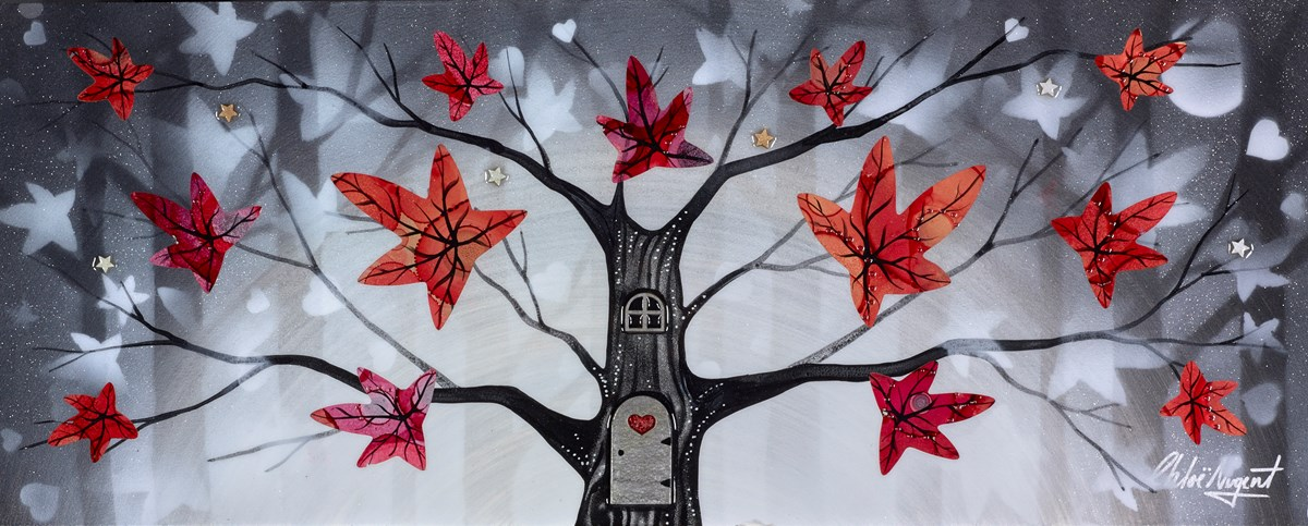 Silver Wood VI by chloe nugent -  sized 25x10 inches. Available from Whitewall Galleries